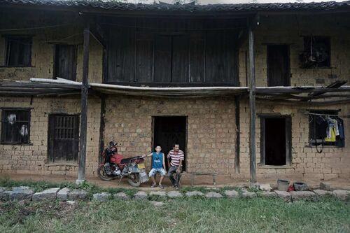貴州偏遠農村破房子