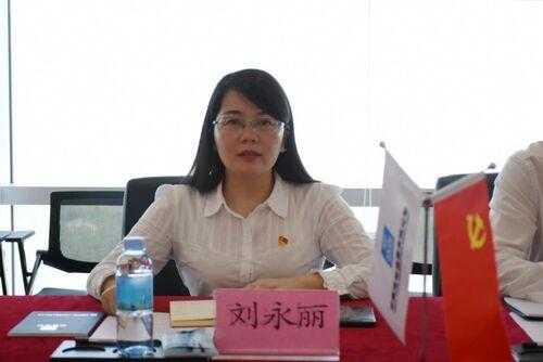 福强社区党委委员刘永丽讲话